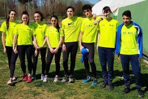 Sport - Atletica leggera - Finass - La squadra di Cadetti e Cadette