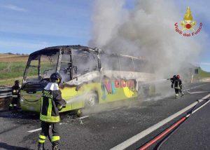 Roma - L'intervento dei vigili del fuoco