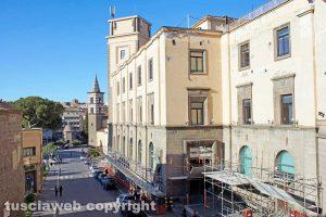 Viterbo - Il palazzo delle Poste
