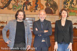 Tarquinia - Da sinistra: Traversi, Ranieri e Coretto
