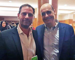 Quinto Mazzoni e Nicola Zingaretti