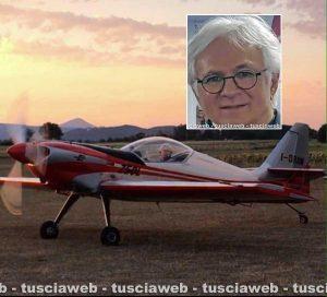 Flavio Saccomanno e il suo aereo