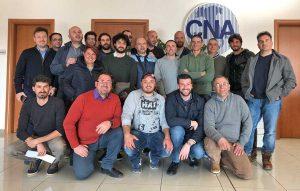 Viterbo - Cna - I partecipanti del corso per manutentore del verde