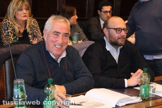 Viterbo - Consiglio comunale - Scardozzi e Bianchini