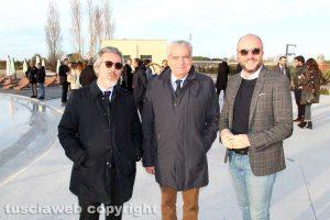 Francesco Battistoni, Giovanni Arena e Mauro Rotelli