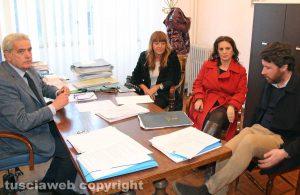 Giovanni Arena nomina Bufalini, Allegrini e De Carolis assessori