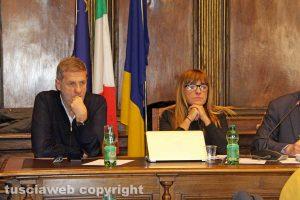 Viterbo - Consiglio comunale - Ubertini e Bufalini