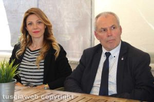 Elisa Cepparotti e Valter Rinaldo Merli