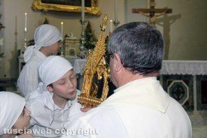 Viterbo - Le celebrazioni per il transito di santa Rosa