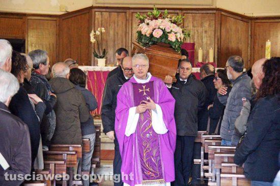 Viterbo - I funerali di Maria Grazia Bigiotti