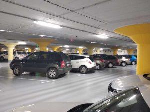 Lubiana - Un parcheggio sotterraneo