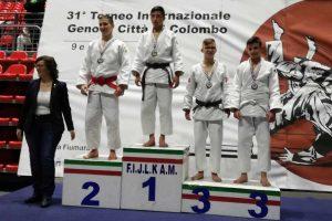 Sport - Arti marziali - Judo - Gianluca Catani al Gran prix Cadetti