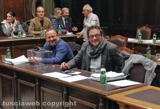 Gianluca Grancini e Massimo Erbetti