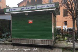 Viterbo - L'edicola di piazza del Sacrario