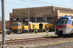 Orte - Stazione - Il punto in cui sarebbe avvenuto l'incidente