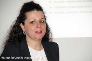 Viterbo - Chiara Frontini alla Tusciaweb Academy