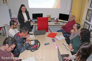 Viterbo - La lezione di Chiara Frontini alla Tusciaweb Academy