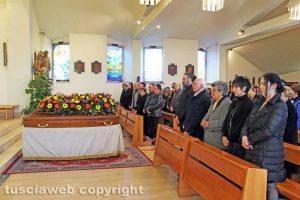 Viterbo - I funerali di Silvio Melinelli