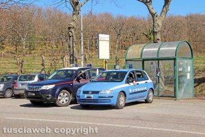 Viterbo - Carabinieri e polizia alla mobilitazione dei sindacati della sanità privata