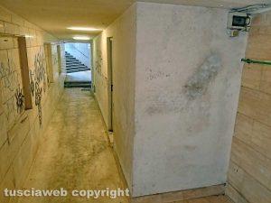 Montefiascone - I bagni pubblici nel sottopassaggio di viale Roma
