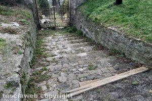 Montefiascone - I giardini della Rocca dei Papi