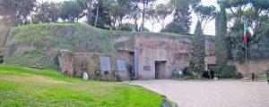 Roma - L'entrata delle Fosse Ardeatine