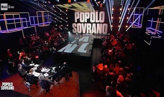 Popolo Sovrano - Il programma di Rai2 su Mammagialla