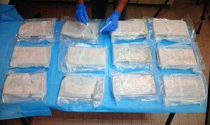 Operazione Eurojust - La cocaina sequestrata a Monte Romano