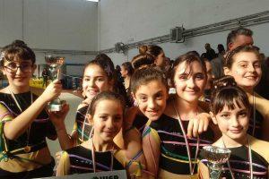 Sport - Ginnastica ritmica - Dimensione nuoto - Le giovani atlete del settore gym'art
