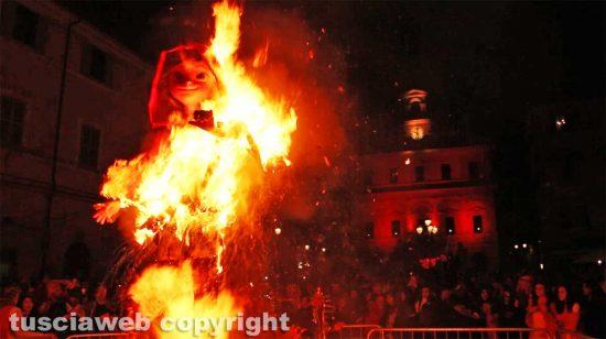 Civita Castellana - Il Puccio bruciato