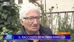 Giallo di Ronciglione - Mirella Iezzi, la nonna di Andrea Landolfi, alla Vita in diretta