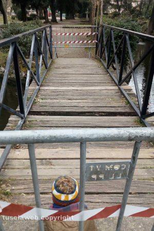 Viterbo - Il ponte sul laghetto di Pratoglardino
