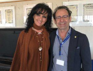 Acquapendente - La dirigente scolastica Luciana Billi e Carlo Massullo