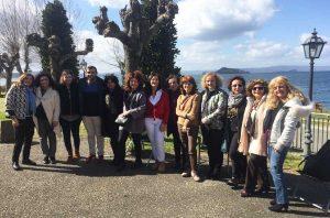 Montefiascone - I due insegnanti di Toledo all'istituto Molinari