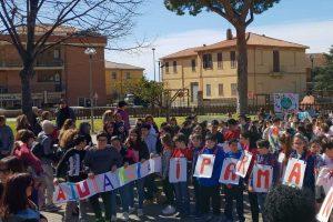 Tarquinia - Gli studenti dell'Ic Sacconi in difesa dell'ambiente