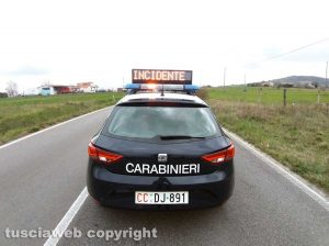 Carabinieri - Incidente