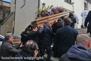 Soriano nel Cimino - I funerali di Nicola Orazi