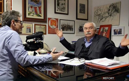 Ugo Sposetti a Report