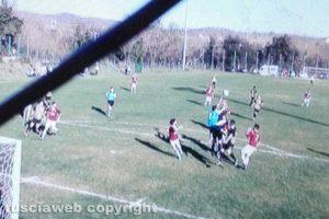 Sport - Calcio - L'episodio che ha provocato il calcio di rigore