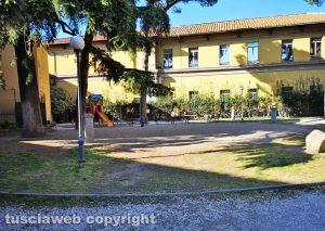 Viterbo - Il giardino pubblico di Porta della Verità
