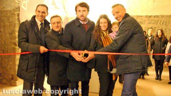 Viterbo - Davide Argentieri, don Luigi Fabbri, Marco De Carolis, Antonella Sberna e Daniele Mautone
