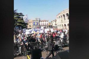 Verona - Congresso delle famiglie