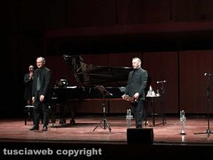 Roma - Il concerto del duo viterbese Viti-Seccafieno all'Auditorium