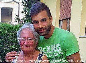 Andrea Landolfi con la nonna Mirella Iezzi