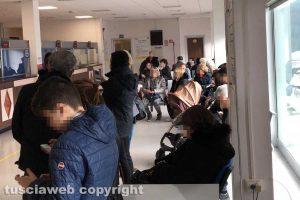 Viterbo - Terminali bloccati alla cittadella della salute