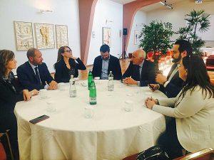 Confcommercio Lazio Nord incontra il vicepresidente del parlamento europeo Fabio Massimo Castaldo