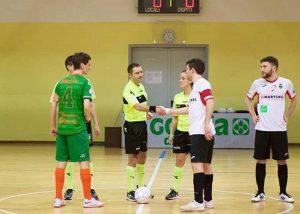 Sport - Calcio a cinque - L'arbitro Angelo Ricci