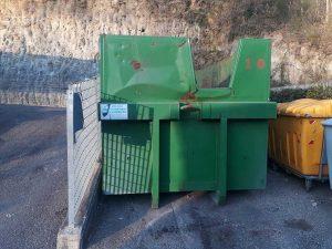 Vetralla - Ecocentro la Botte - Nuovi contenitori per i rifiuti speciali