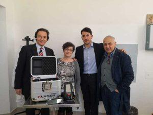 Bagnoregio - Il comune dona un K laser cube alla Casa della salute