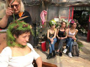 Bassano in Teverina - Cento volti di donne - L'attrice Alessandra Cappuccini